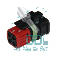 Common Rail Electrical Connector Delphi Smart