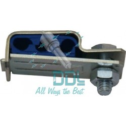 31D126 3 Injector Hinged Pipe Clamp