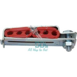 31D129 6 Injector Hinged Pipe Clamp