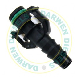 19D522 Common Rail Quick Release Straight Connector